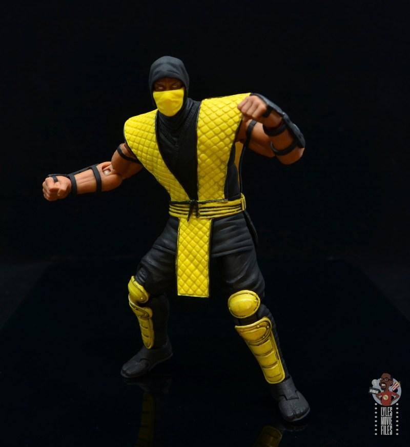 storm collectibles scorpion figure review - battle stance
