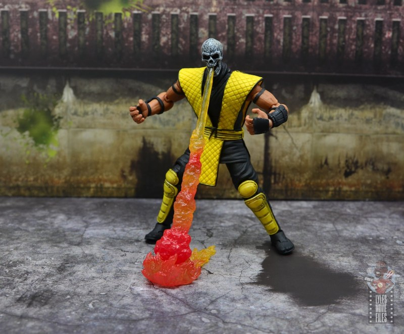 storm collectibles scorpion figure review - hellfire