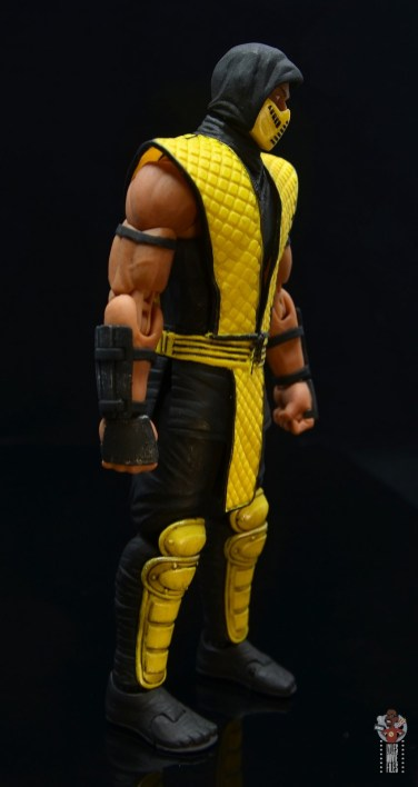 storm collectibles scorpion figure review - right side