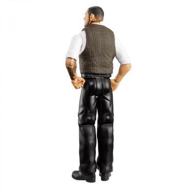 wwe basic 102 - baron corbin figure - rear