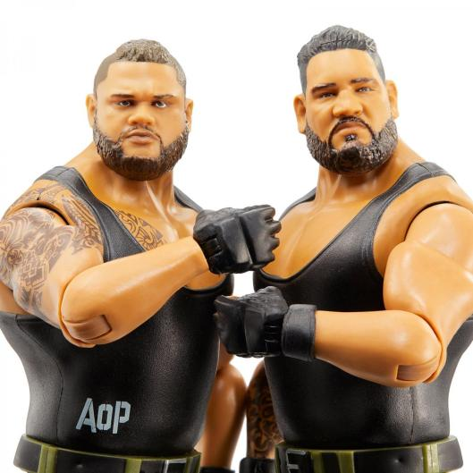 wwe battle pack 62 authors of pain - close up