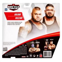 wwe battle pack 62 authors of pain -package rear