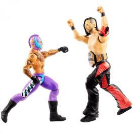 wwe battle pack 62 rey mysterio vs shinsuke nakamura - facing off