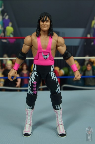 wwe bret hart king of the ring 1993 figure review - front