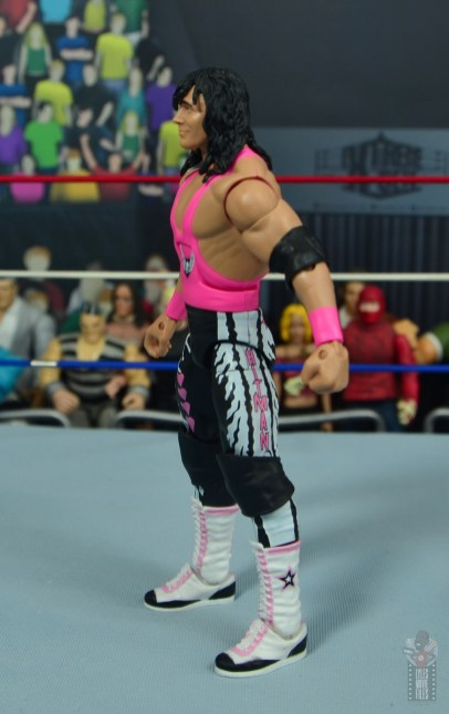 wwe bret hart king of the ring 1993 figure review - left side