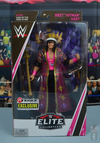 wwe bret hart king of the ring 1993 figure review - package front
