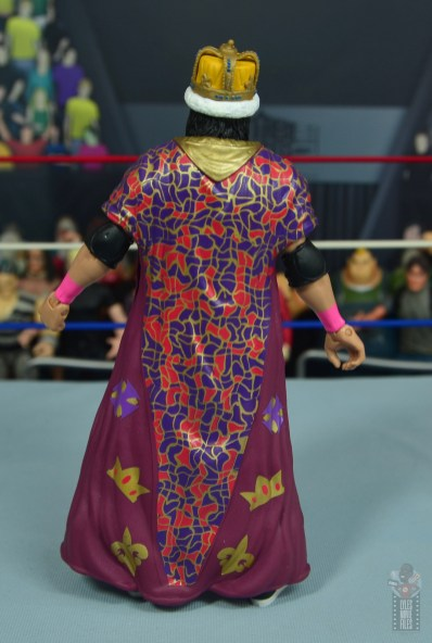 wwe bret hart king of the ring 1993 figure review - robe rear