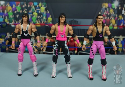 wwe bret hart king of the ring 1993 figure review - with wrestlemania 10 and hart foundation bret hart figures