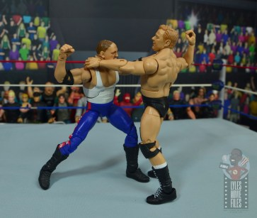 wwe elite pat patterson figure review - fist fight with sgt slaugther