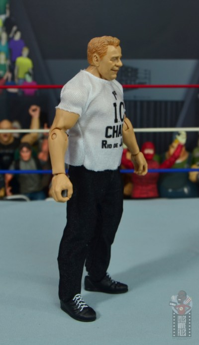 wwe elite pat patterson figure review - right side
