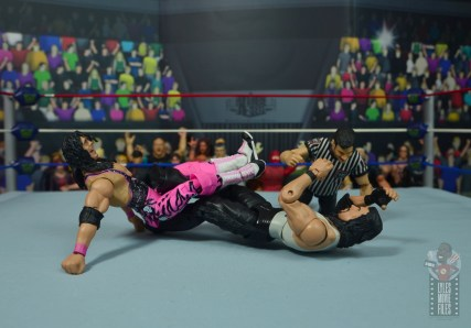 wwe ultimate edition bret hitman hart figure review - figure four to diesel