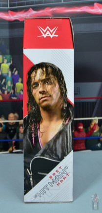 wwe ultimate edition bret hitman hart figure review - package right side