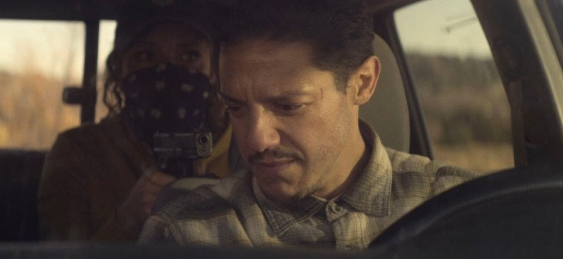 Rattlesnake movie review - Carmen Ejogo and Theo Rossi
