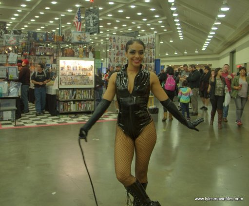 Baltimore Comic Con 2019 cosplay - catwoman wide