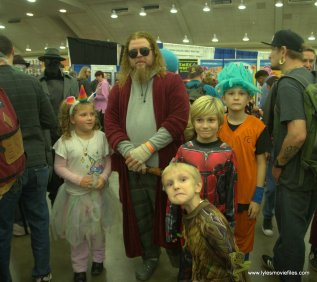 Baltimore Comic Con 2019 cosplay - dude and pals