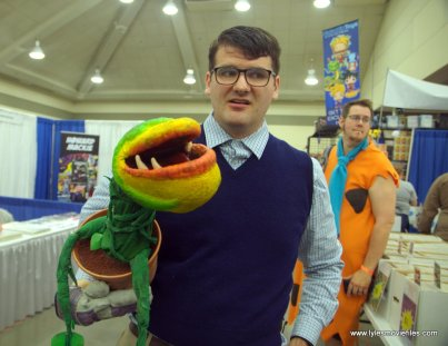 Baltimore Comic Con 2019 cosplay - lil shop of horrors
