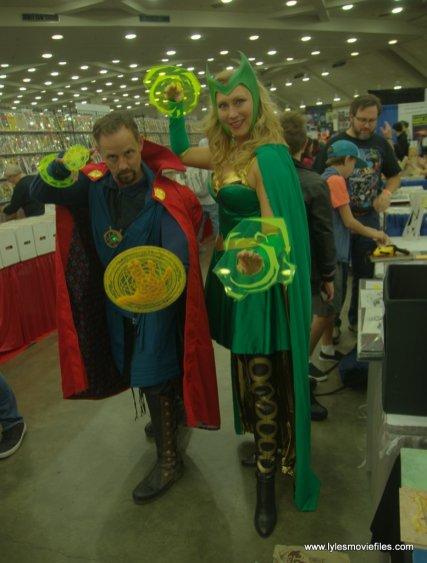 Baltimore Comic Con 2019 cosplay - doctor strange and enchantress