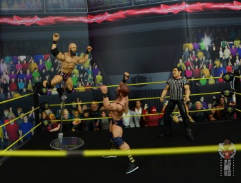 WWE Hall of Champions DIY figure review - ciampa diving