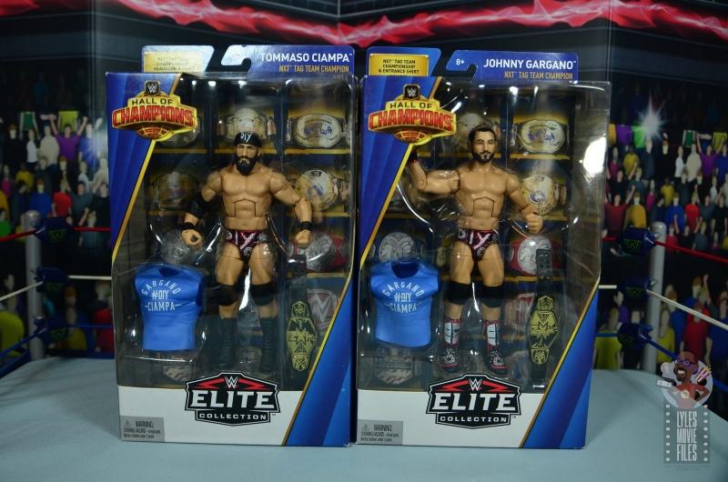 WWE ELITE build a figure BAF JJ Dillon torse pièces Flashback Wrestling Figure