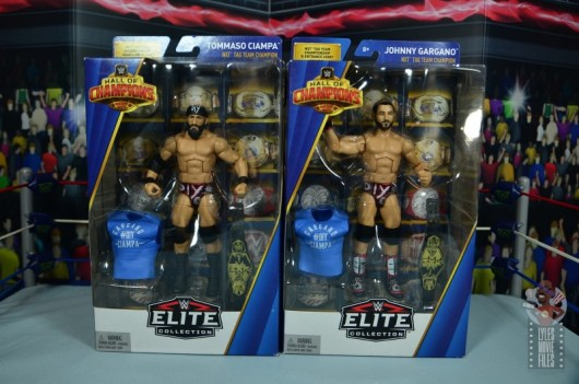 WWE Hall of Champions DIY figure review - package front