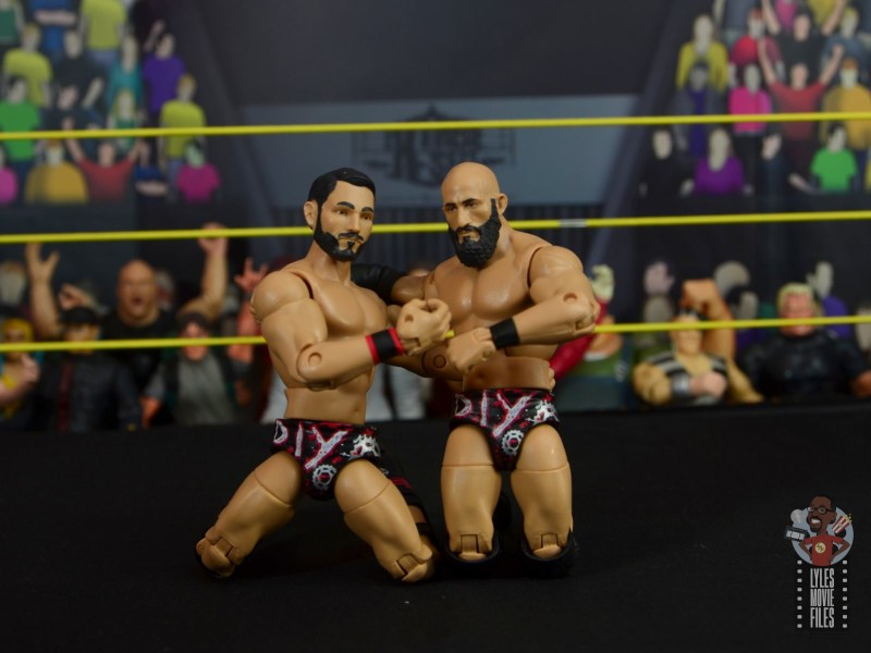 WWE Hall of Champions DIY figure review - victory pose