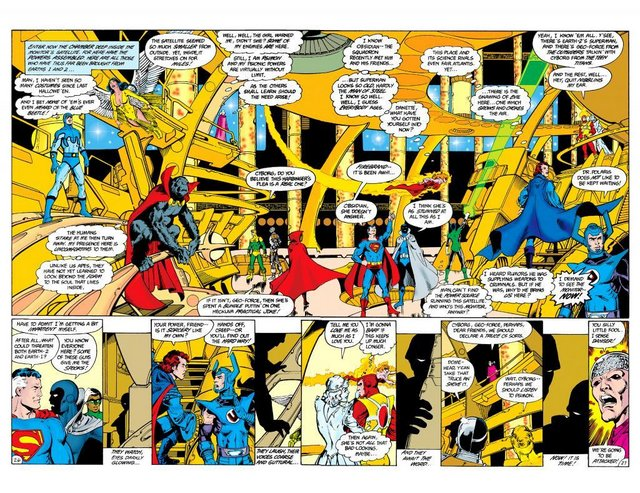 crisis_on_infinite_earths-1-assembled heroes and villains