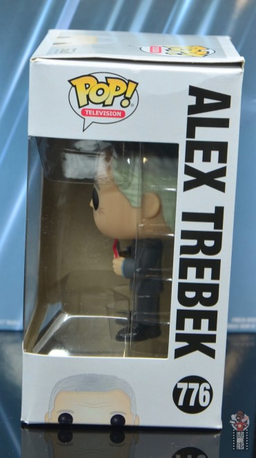 funko pop alex trebek figure review package side 1