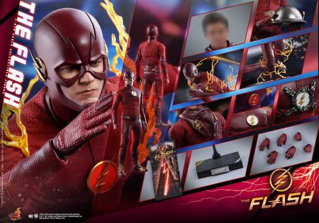 hot toys cw the flash figure - collage
