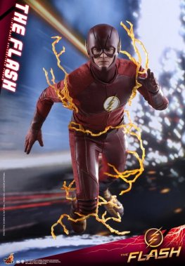 hot toys cw the flash figure - running ahead