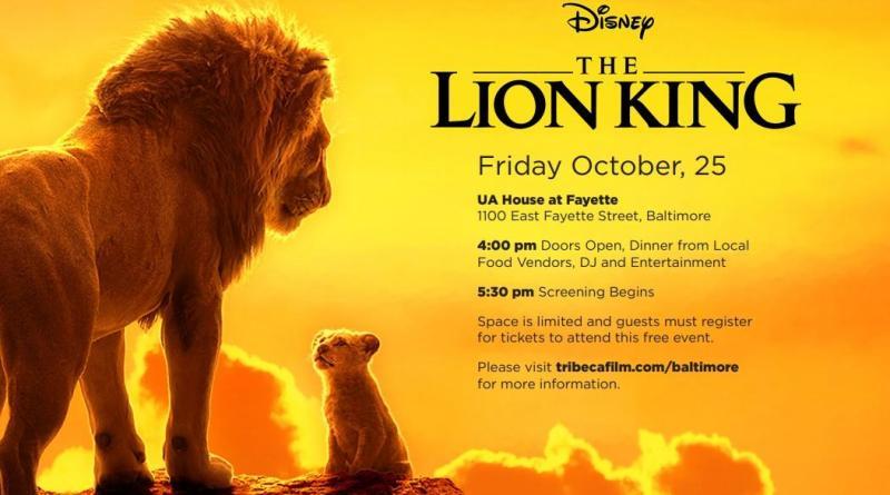lion king screening