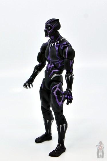 marvel legends black panther vibranium effect figure review - left side