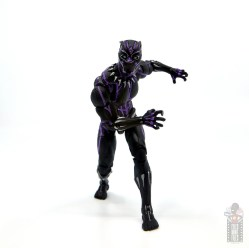 marvel legends black panther vibranium effect figure review - on the prowl