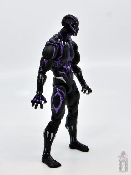 marvel legends black panther vibranium effect figure review - right side