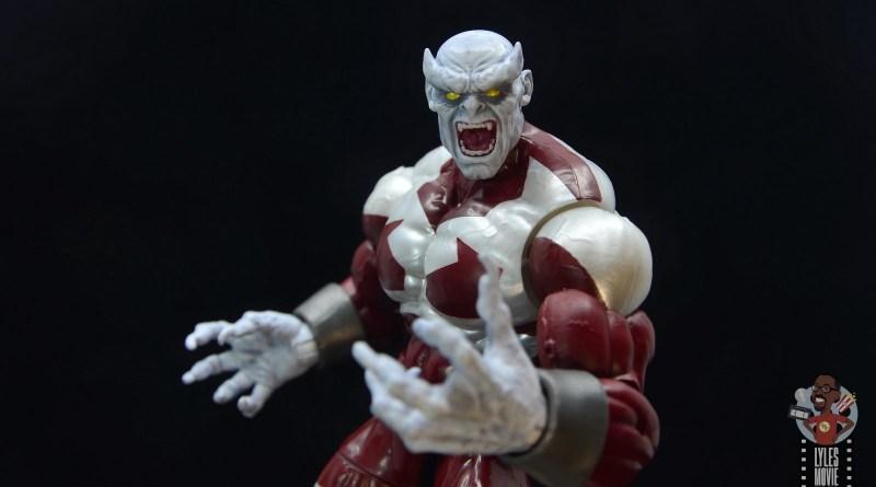 marvel legends build a figure caliban figure review - main pic