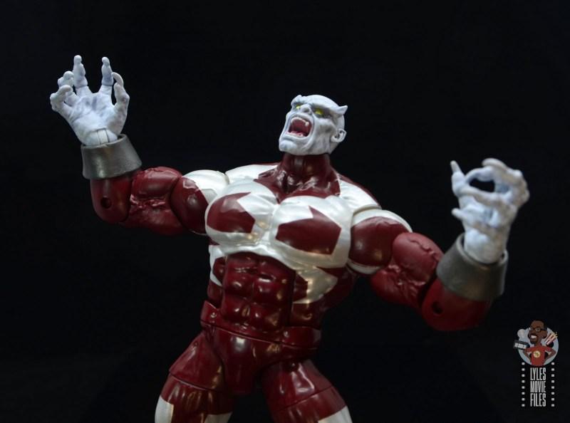 marvel legends build a figure caliban figure review -rage of caliban