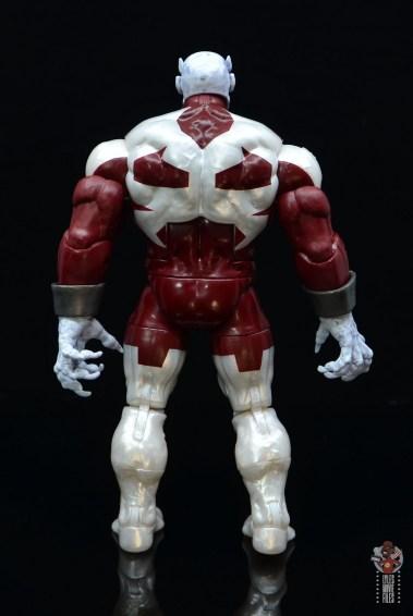 marvel legends build a figure caliban figure review - rear