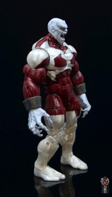 marvel legends build a figure caliban figure review - right side