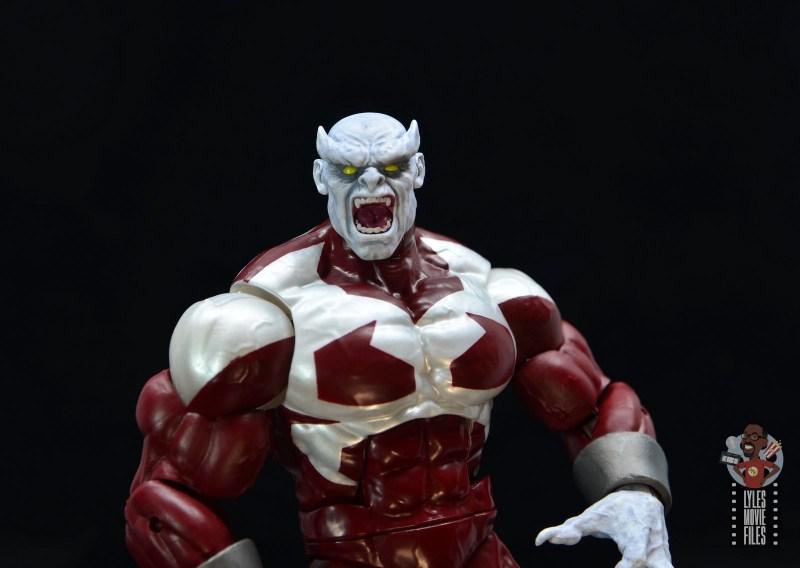 marvel legends build a figure caliban figure review - wide shot