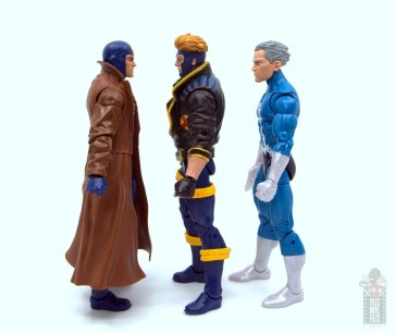 marvel legends havok and polaris figure review -havok facing multiple man and quicksilver