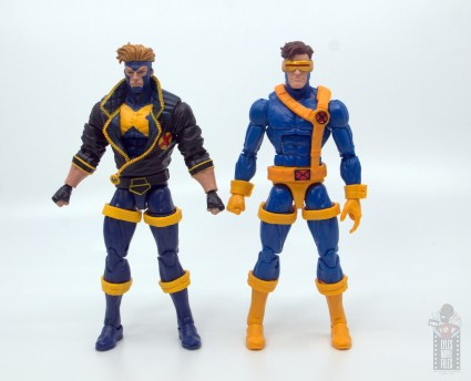 marvel legends havok and polaris figure review - havok scale with cyclops