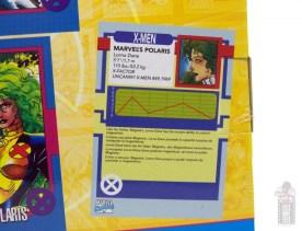 marvel legends havok and polaris figure review - package polaris bio