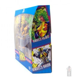 marvel legends havok and polaris figure review -package side