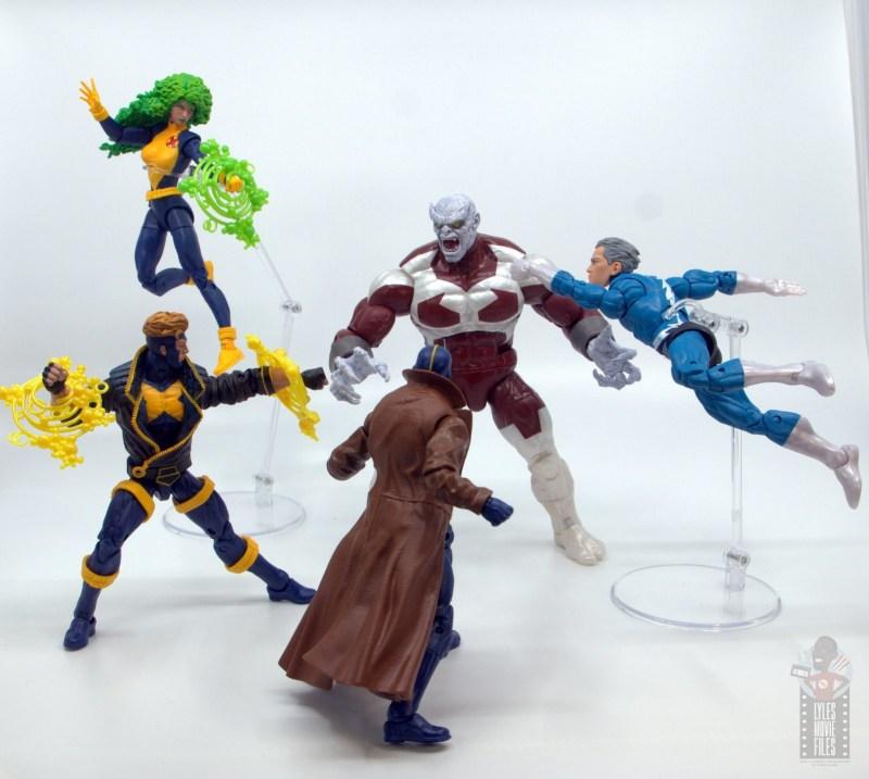 marvel legends havok and polaris figure review -x-factor vs caliban