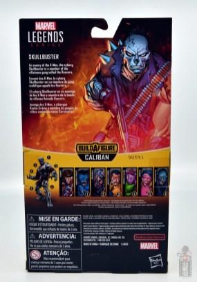 marvel legends skullbuster figure review -package rear