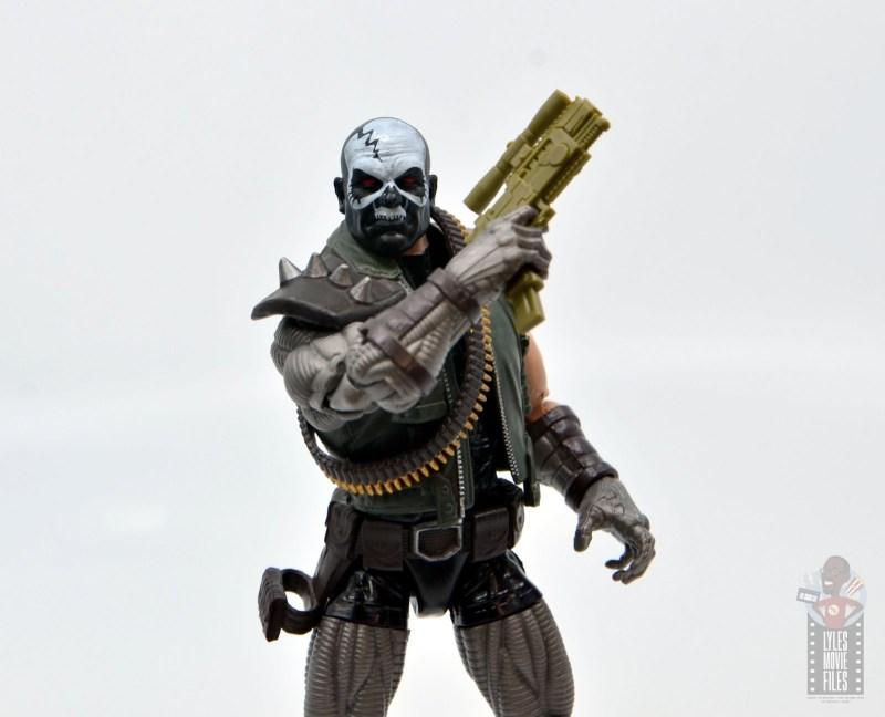 marvel legends skullbuster figure review - raising gun