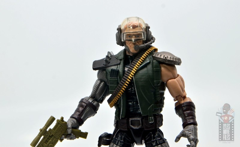 marvel legends skullbuster figure review - with reese head