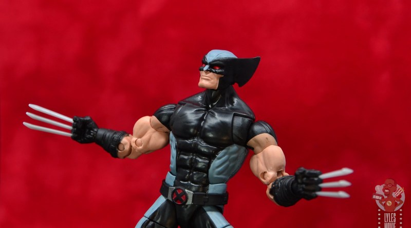 marvel legends x-force wolverine figure review - main pic