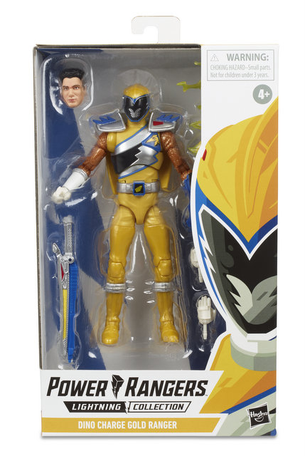 power rangers lightning collection wave 3 -Gold Ranger_5