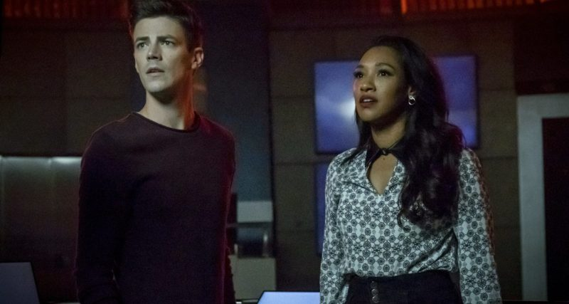the flash into the void review - barry and iris