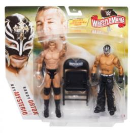 wwe battle pack wrestlemania 36 rey mysterio vs randy orton -package front